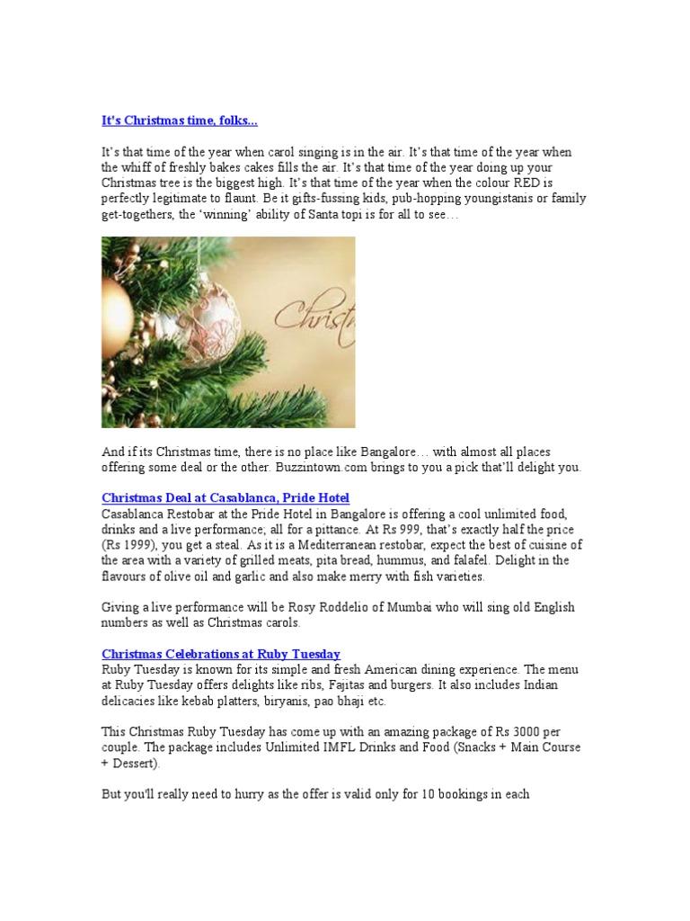 Its Christmas Time Folks | Christmas | Christmas Carols