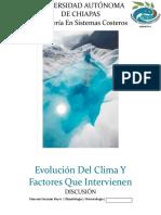 1. Evolucion del clima y factores que inciden en el