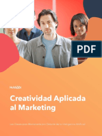 Creatividad aplicada al Marketing- Las claves para mantenerte por delante de la Inteligencia Artificial