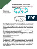 QuizAmmissioneBiologiaPrimaParte