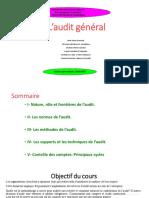 Audit Cours 6ème Semestre FSJES Casablanca