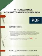 CONTRATACIONES ADMINISTRATIVAS EN BOLIVIA.pptx
