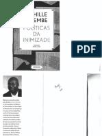 Políticas Da Inimizade, Achille Mbembe