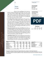 JP Morgan Research Report- RB