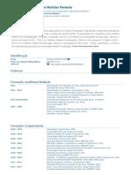 Currículo do Sistema de Currículos Lattes - Monique Martins Parente