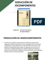 PRODUCCIÓN DE HEMOCOMPONENTES.pptx