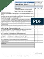 4.17.2. PETAR Check List de controles críticos y criterios de desempeño