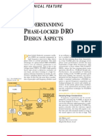 Understanding Phase Locked Dro Design Aspects