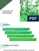diseño y sintesis de reactores