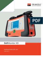 PRIMEDIC Instrucciones de Uso _DefiMonitor XD_ES_F
