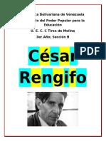 Trabajo César Rengifo