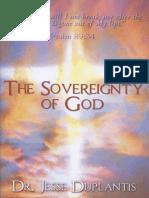 212662970 the Sovereignty of God Duplantis