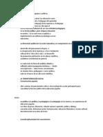 Apuntes sobre Paulo Freire