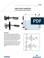 Ip101 Magnetic Level Switches