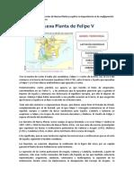 Define qué fueron los Decretos de Nueva Planta y explica su importancia en la configuración del nuevo Estado borbónico