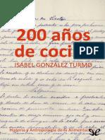 200 Anos de cocina