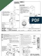 AR 4550 Lever Installation Instruction