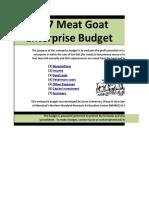multipagegoat budget
