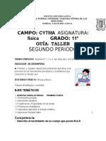 TRABAJO PEDAGOGICO DE FISICA GRADO 11