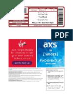 Axs ticket