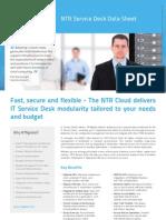 NTR Service Desk Data Sheet
