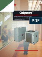 Folleto Divididos ODYSSEY 7.5-20 (2001es)
