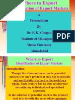 2. BEMS-Identification of EXport -Mkts