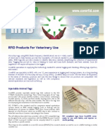 023 RFID Products for Veterinary Use