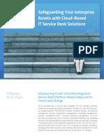 NTR Service Desk - White Paper