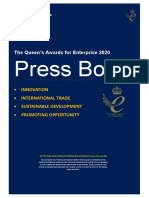 2020 Queens Awards Enterprise Press Book