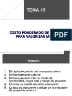TEMA 15 COSTO PONDERADO DE CAPITAL.ppt