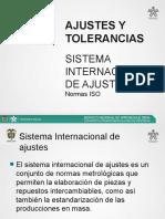 T. 6 - AJUSTES Y TOLERANCIAS SISTEMA INTERNACIONAL DE AJUSTES