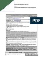Actividades de evaluación, Tema 3