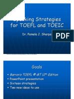 Speaking Strategies for TOEFL and TOEIC-0309