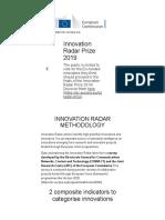Innovation Radar _ Methodology