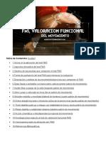 VALORACIÓN FUNCIONAL DEL MOVIMIENTO