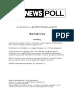 Fox News Poll April 18-21, 2020