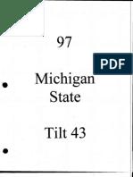 1997 Michigan St 4-3 (Saban)