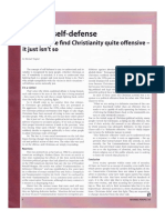 Political Self-Defense