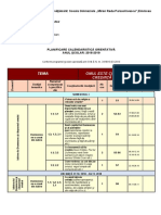 clasa 0 - 15.04-19.04 ordine  programa