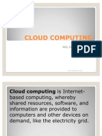 Cloud Computing Presentation