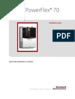 EEM 03.10 - Manual AB - Inversor de Frequencia POWERFLEX 70 - Tecnico