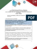 Guía de actividades y rúbrica de evaluación - Unidad 3 - Fase 3 - Tomar decisiones.pdf