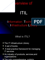 Overview of ITIL