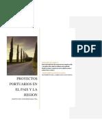 PROYECTOS PORTUARIOS EN EL PAIS Y LA REGION
