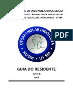 GUIA DO RESIDENTE 2016