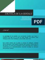 ESCUELA DE LA GESTALT