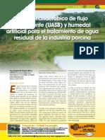 Biodigestores Flujo Vertical Tratamiento Agua Residual Industria Porcina