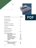 COLOR - INGLES Manual Rotary Heat Sealers F110D.en.es