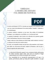 Unidad 6 - Teoria del Estado y Derecho Natural